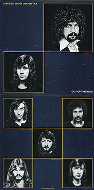 Out Of The Blue Band Poster