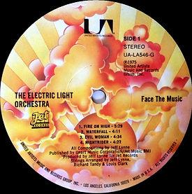 Face The Music UA-LA546-G Sunburst Label