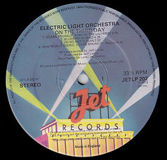 ELO - On The Third Day JetLP 202