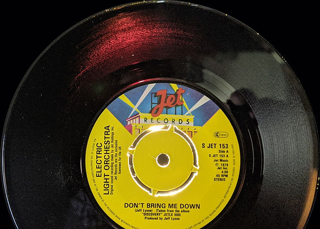 Don't Bring Me Down - S Jet 153 Translucent Red Vinyl