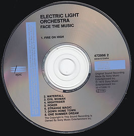 ELO Face The Music - 472996 2