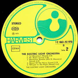 The Electric Light Orchestra - 1C 062-92970