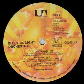Ole ELO UA-LA630-G Sunburst Label Side 1