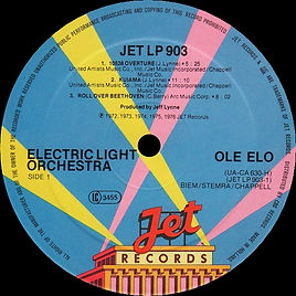 OLE ELO JET LP 903 - No Star