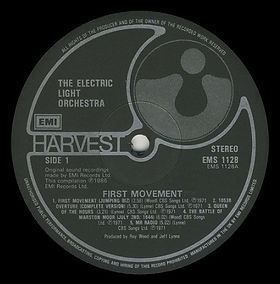 First Movement Side 1 EMS 1128