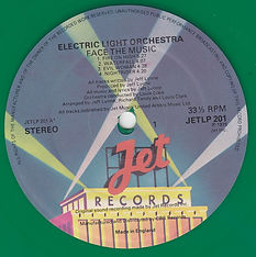 Face The Music Green Jet LP 201