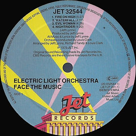 ELO Face The Music - Jet 32544