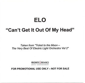 Can't Get It Out Of My Head CDR Promo