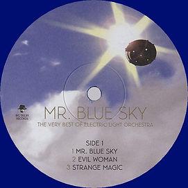 Mr Blue Sky - Blue Vinyl - LETV070LP