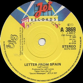 Letter From Spain JET A 3869