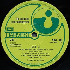 ELO II Gramophone SHVL 806 1st Issue Moma