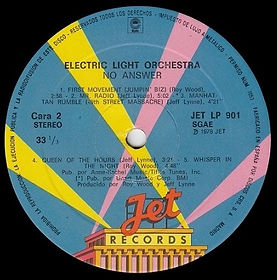Electric Light Orchestra Jet LP 901 - Spain
