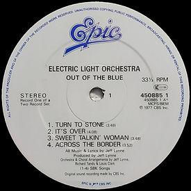 Out Of The Blue 45085 LP Label Side 1 V3