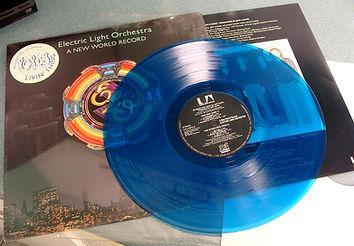 A New World Record UA-LA679-G Blue Vinyl