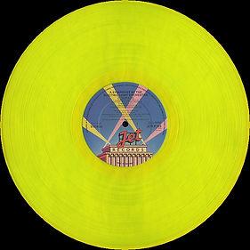 Eldorado JETLP 203 Yellow Vinyl 2nd Issue Full Side 1
