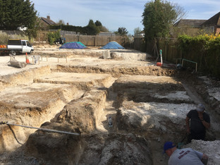 Alun Gedrych Ltd - Footings Prior to Concrete