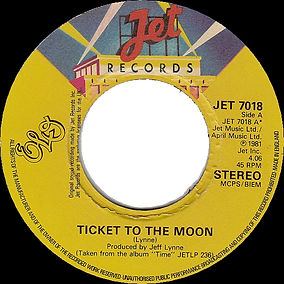 Ticket ToThe Moon / Here Is The News JET 7018