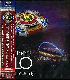 ELO Wembley or Bust DVD Japan BSCD2