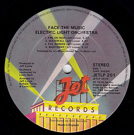 Face The Music JetLP201 1st Issue