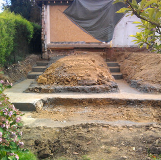 Alun Gedrych - Concrete Footings