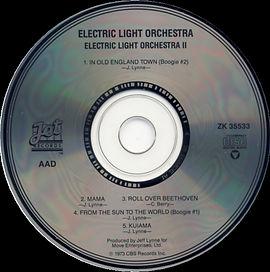 ELO II CD ZK 35533 1st Issue