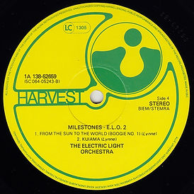 Milestones 1A 138-52658/59 Second Issue LP