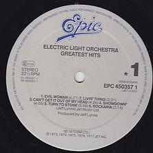 ELO Greatest Hits Jet LX 525