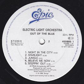 Out Of The Blue 45085 LP Label Side 2 V1
