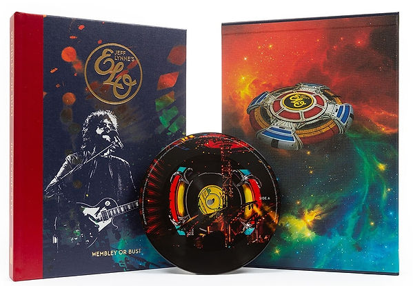 ELO Wembley Or Bust Book 2018
