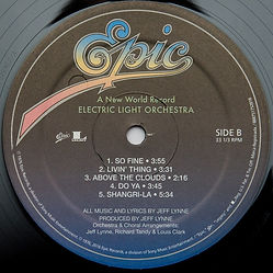 A New World Record - USA 2018 LP Issue