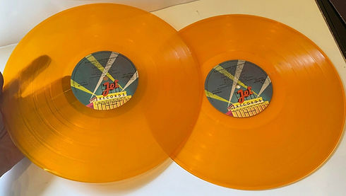Out Of The Blue - Orange Vinyl