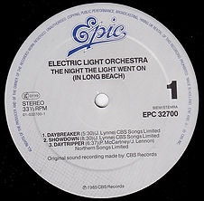 The Night The Light Went On In Long Beach - EPC 32700