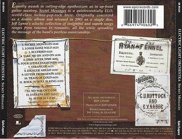 Secret Messages CD EK 85424 Bar Code 2009