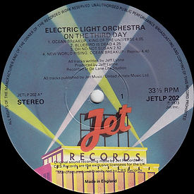 On The Third Day JETLP 202 Side 1