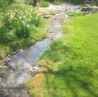 Alun Gedrych Ltd - Man Made Garden Stream