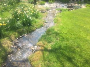 Alun Gedrych Ltd - Man-Made Garden Stream