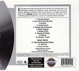 Eldorado CD Re-issue 2006 Slip Case Rear