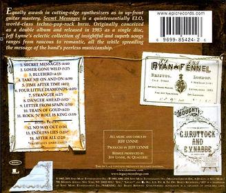 Secret Messages CD EK 85424 Bar Code 2001