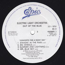 Out Of The Blue 45085 LP Label Side 3 V1