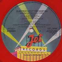 A New World Record Red Vinyl JetLP 200