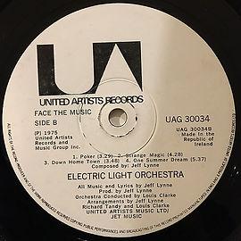 Face The Music UAG 30034 LP Side B