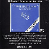 ELO Three Light Years Flyer Advert