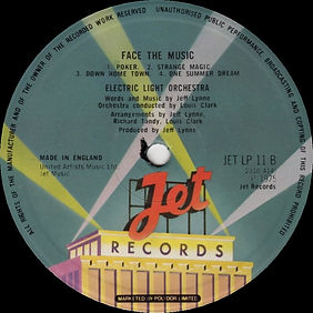 Face The Music JET LP 11 B
