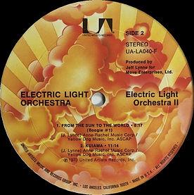 ELO II UA-LA040-F Sunburst Label
