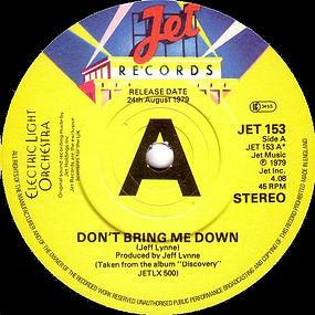 Don't Bring Me Down Promo JET 153