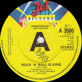 Rock 'N' Roll Is King Promo JET A 3500