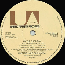 ELO - On The Third Day 5C 062-9915