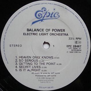 Balance of Power Epic 26467