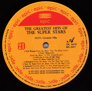 The Greatest Hits of The Super Stars - ELO