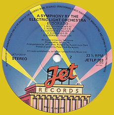 ELO Jet Records Coloured Vinyl Re issues